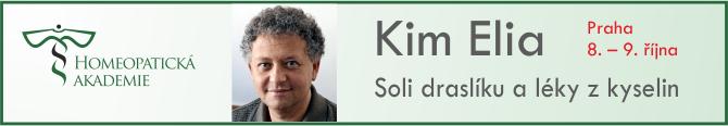 homeopatická akademie- Kim Elia - banner na homeopatiecz 2
